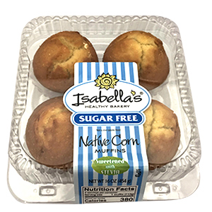 Isabella's® Thaw & Sell Sugar Free Muffins